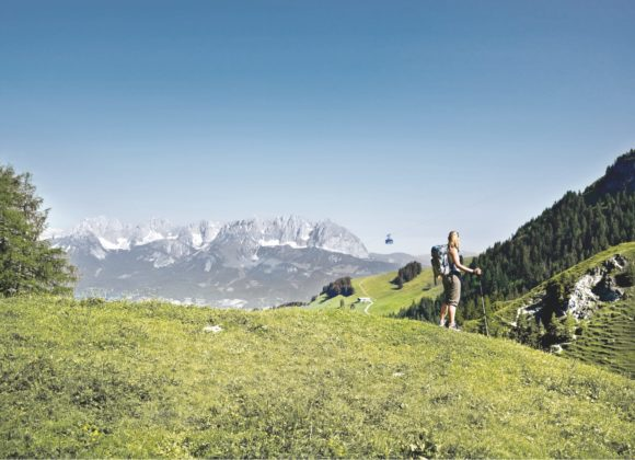 Hoch oben in den Alpen