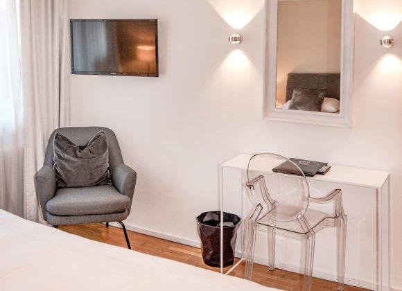 Doppelzimmer Standard (mit Balkon)